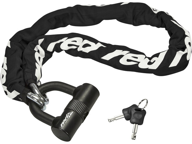 Red Cycling Products High Secure Chain Plus Ketjulukko, black